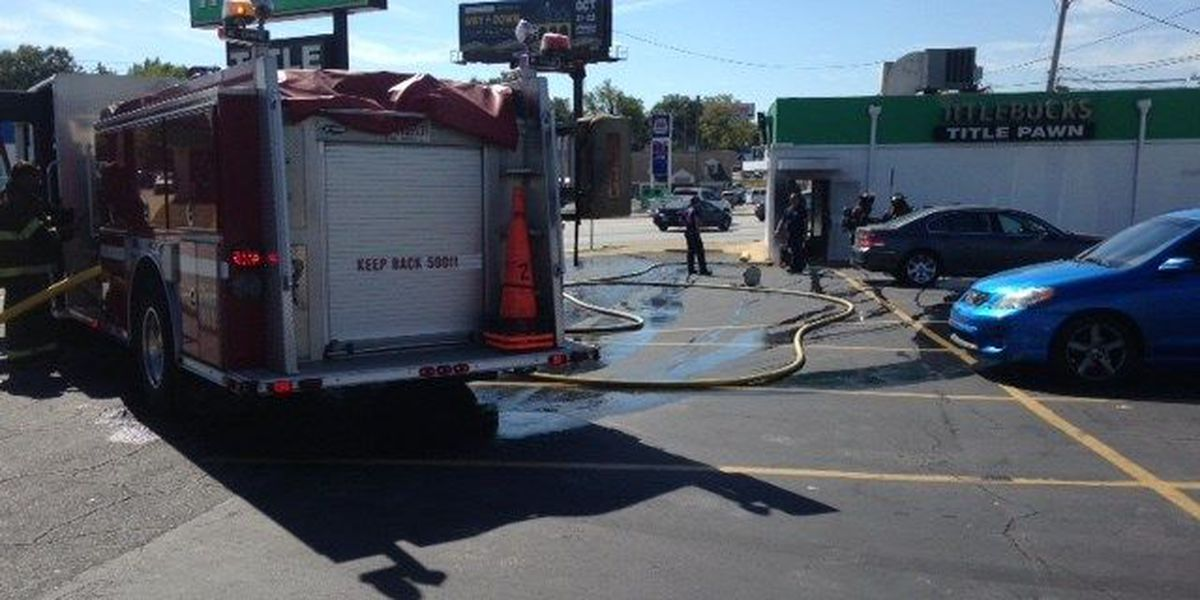 No injuries reported after Columbus business catches fire
