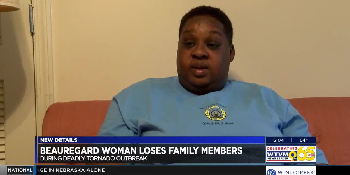 Lee County tornado survivor still processing the loss of multiple family members