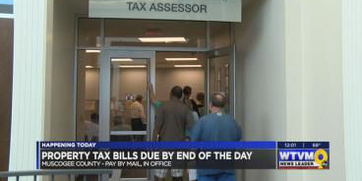 Muscogee County property tax deadline is Friday, how to avoid penalties