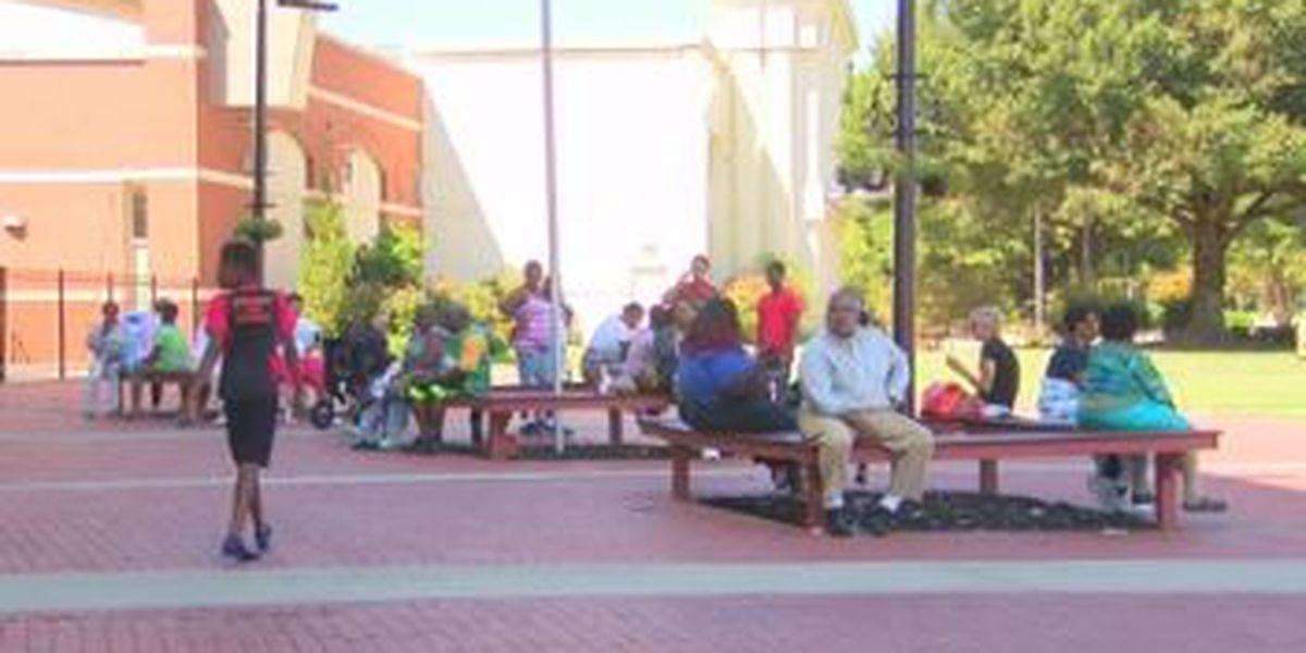 Columbus Civic Center houses nearly 300 hurricane evacuees