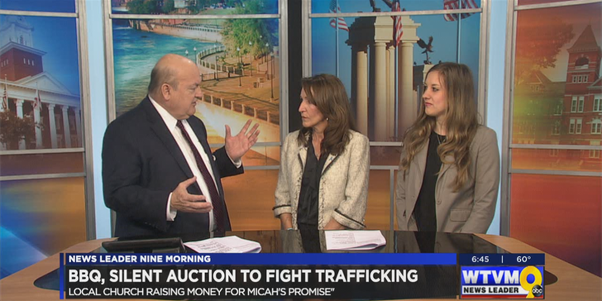 SEGMENT: Columbus ministry hosts event to raise human trafficking awareness