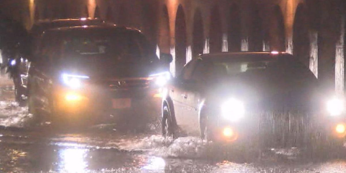 Bad driving habits in severe rain could be deadly