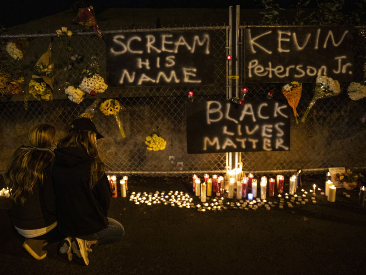 Unrest erupts over police killing of Black man near Portland