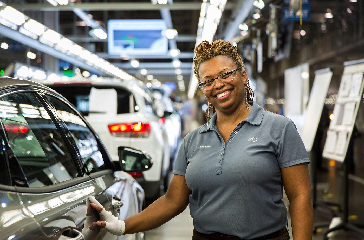 Kia Plant West Point Ga >> One millionth Kia Sorento produced at West Point, GA facility