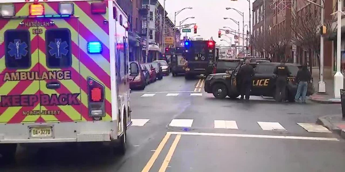 Officers shot in active shooter situation in Jersey City