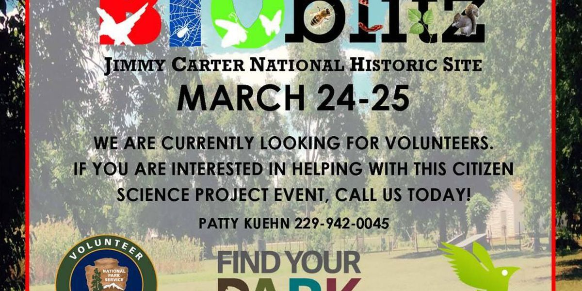 Jimmy Carter National Historic Site hosts BioBlitz event this weekend