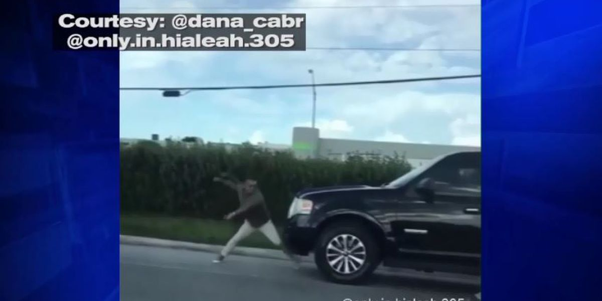 Florida man lays the smackdown on an SUV