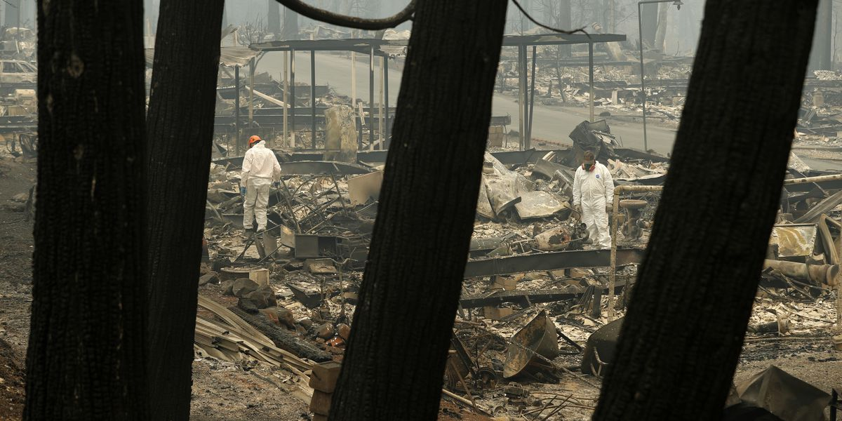The Latest: Sheriff: Death toll raises to 48 in wildfire