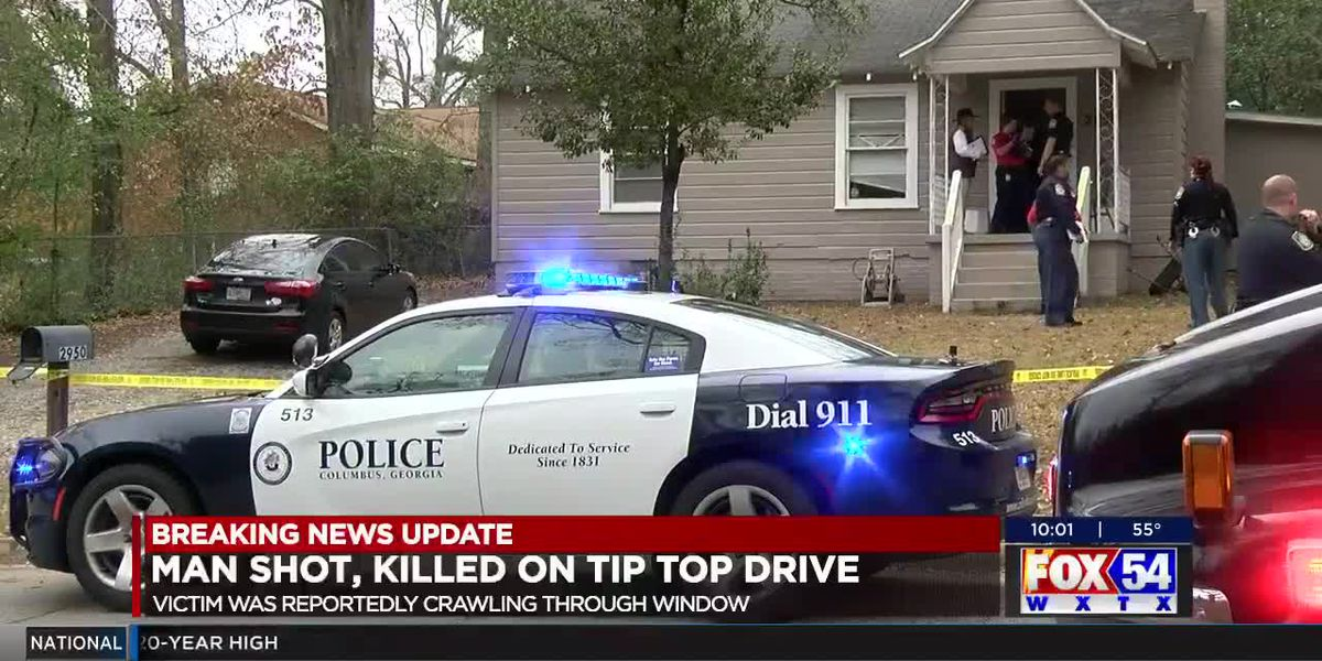 Man shot, killed on Tip Top Drive in Columbus;
