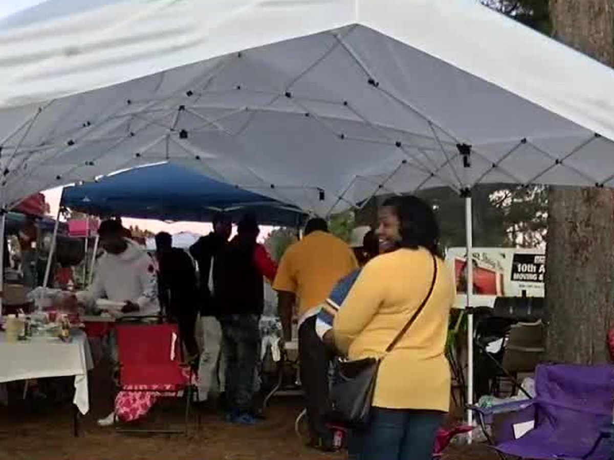 Thousands of people came out to tailgate for the Fountain City Classic