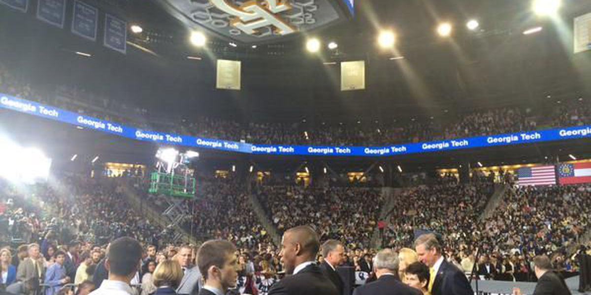 President Obama gives college affordability speech at Georgia Tech