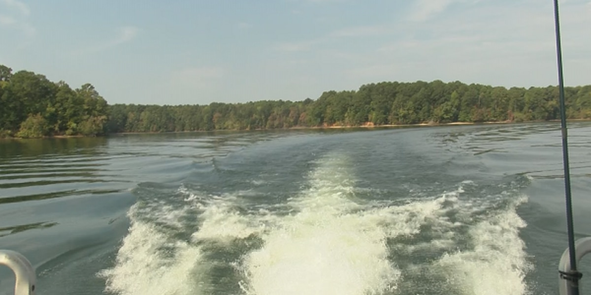 Drought impacting Lake Martin