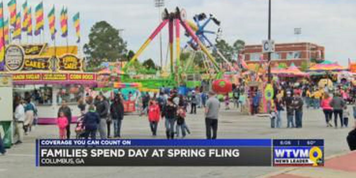 Families have a fun-filled day at Columbus' Spring Fling fair