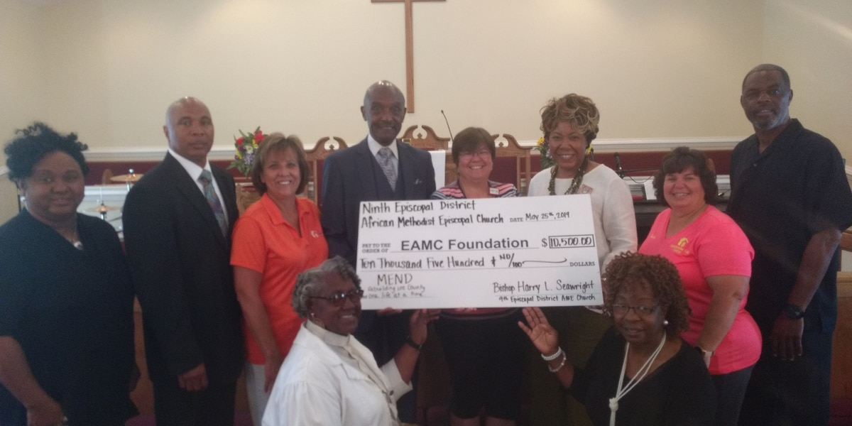 Local churches donate 16K to Lee County tornado victims