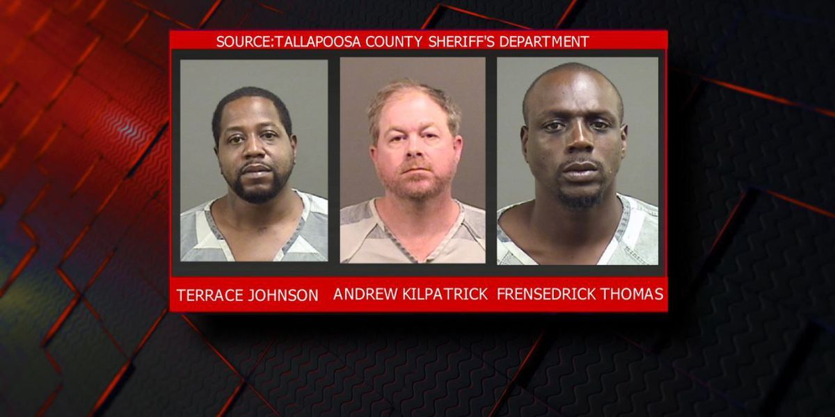 Three arrested after Tallapoosa County drug trafficking ring broken up