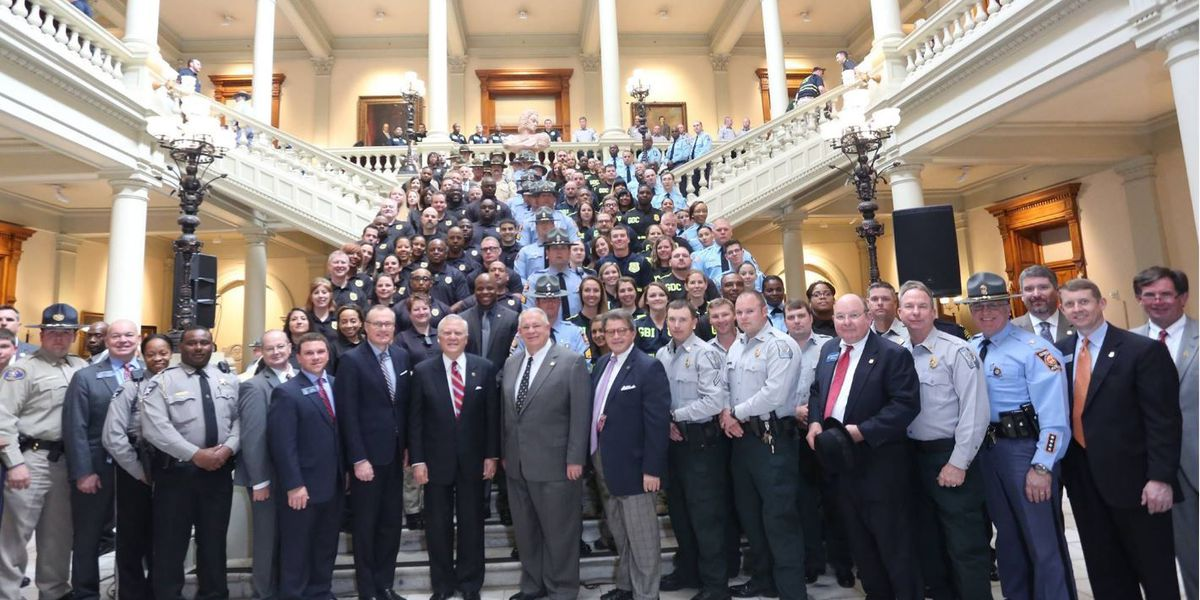 GA lawmakers make March 6 Law Enforcement Appreciation Day