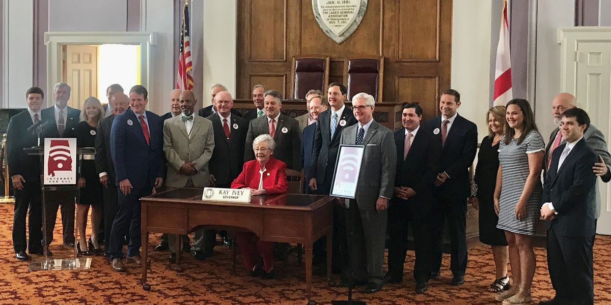 Gov. Ivey to host ceremonial bill signing