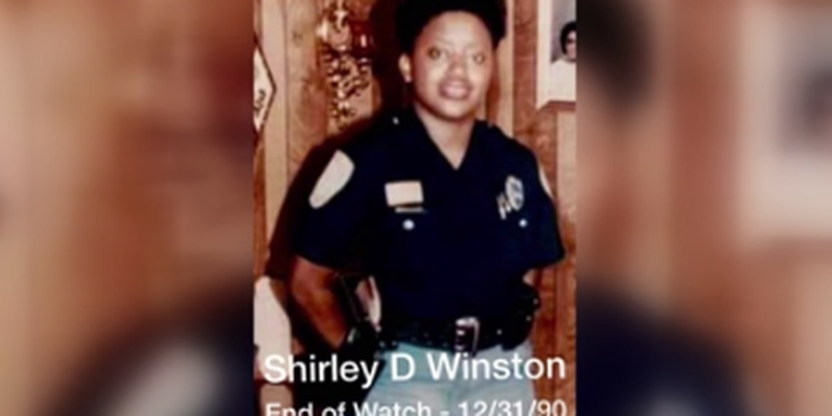 Columbus Police Officer Shirley B. Winston remembered 30 years later