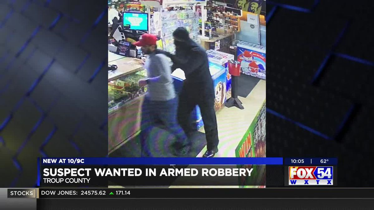 Suspect wanted for armed robbery at convenience store in LaGrange