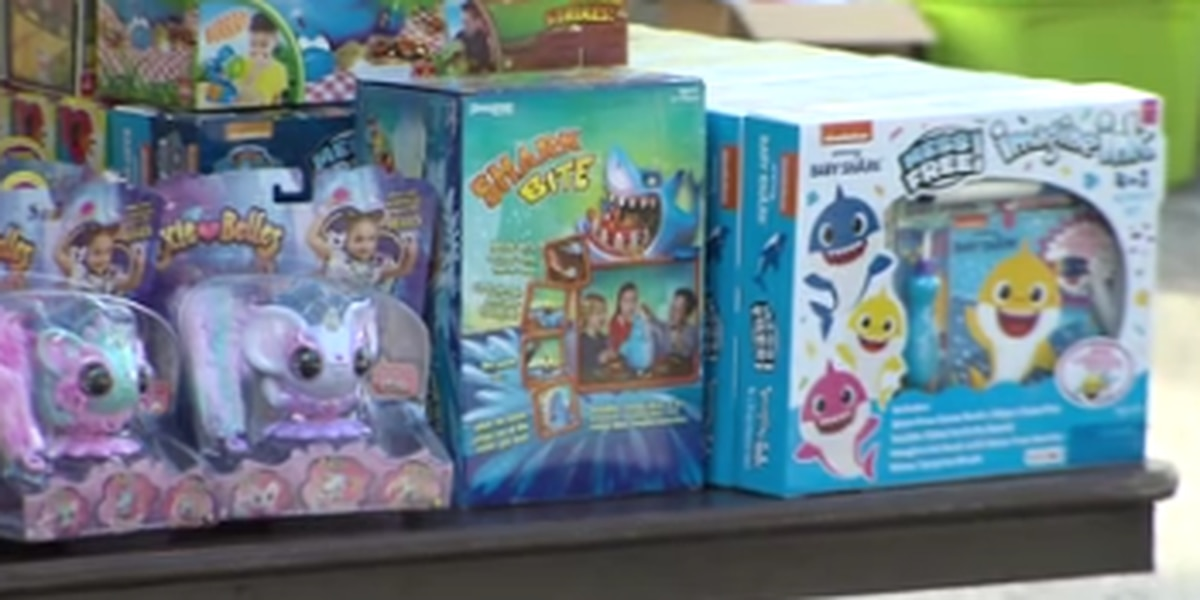 Several organizations team up for food and toy giveaway in Columbus