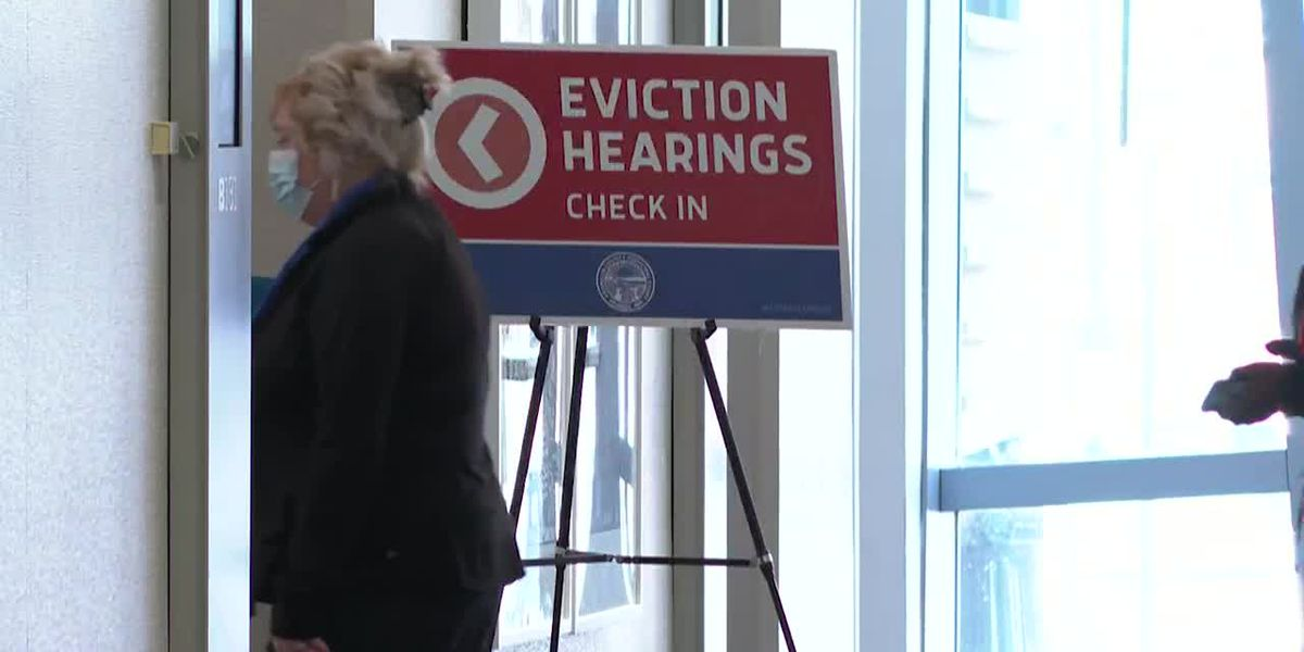 Families struggle to pay rent, face eviction