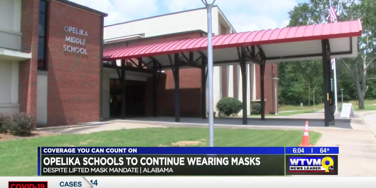 Masks required in Opelika schools through the end of school year