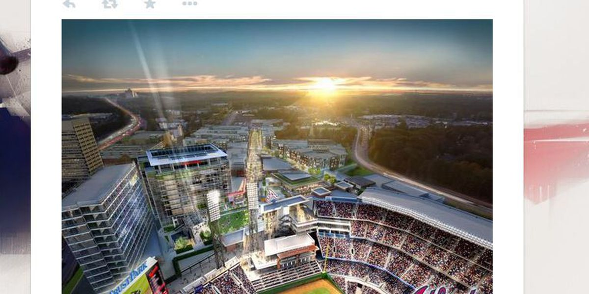 Braves lose, Braves lose? Latest stadium renderings shows team falling to Nats
