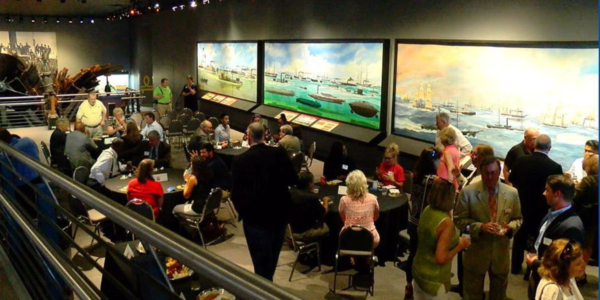 National Civil War Naval Museum hosts Chamber of Commerce meet and greet
