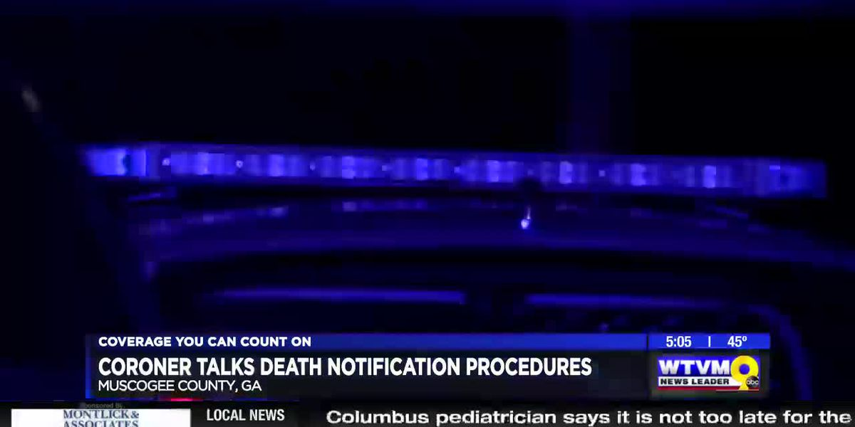 Muscogee Co. coroner discusses death notification procedures