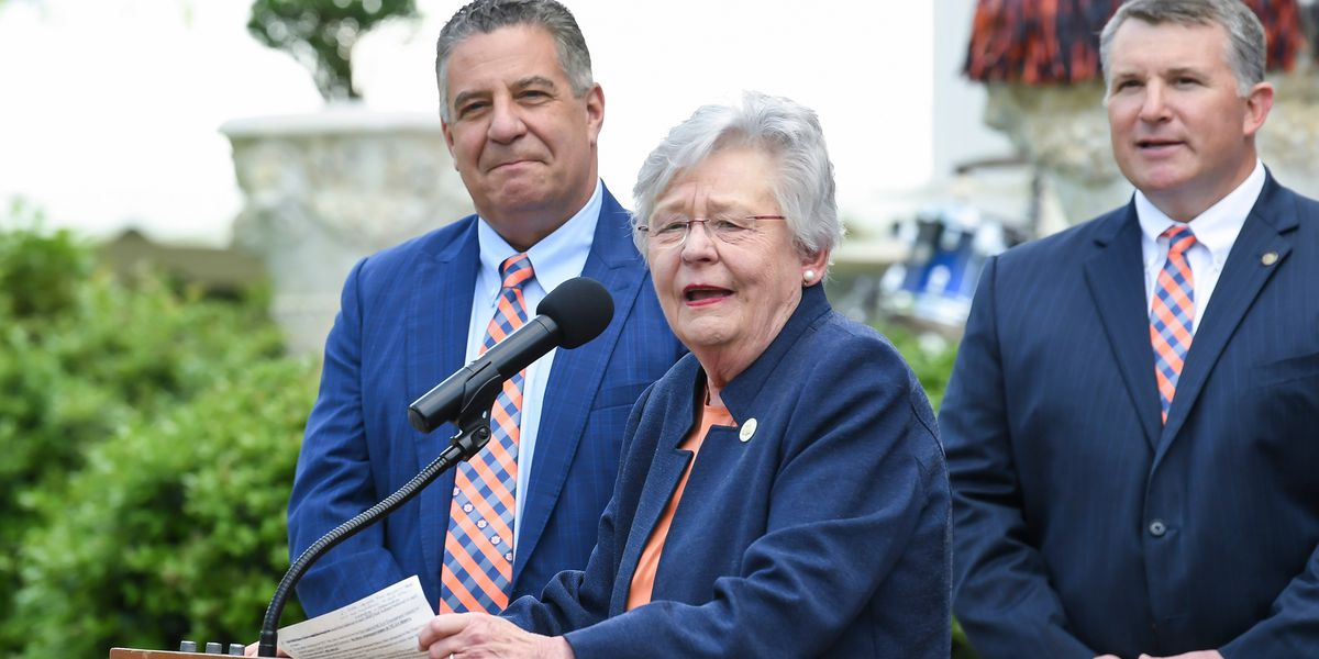 WATCH: Ala. Gov. Kay Ivey gives update on 2019 Legislative Session