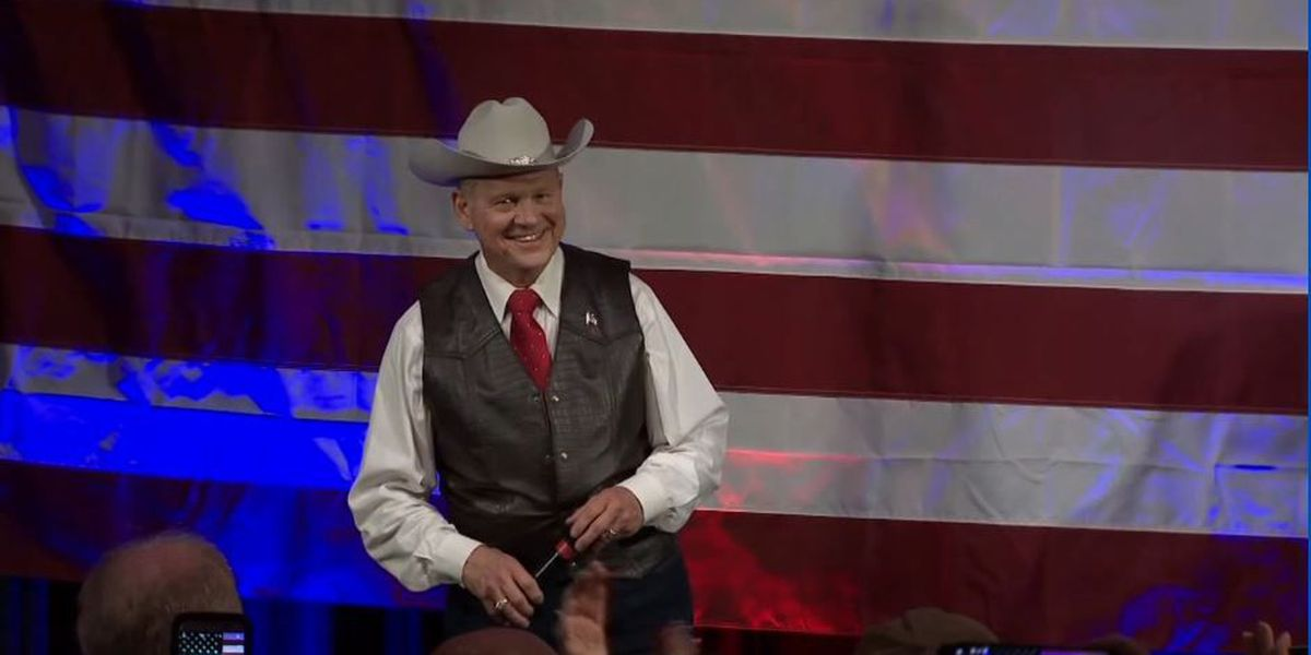 Roy Moore in Auburn for private fundraising event