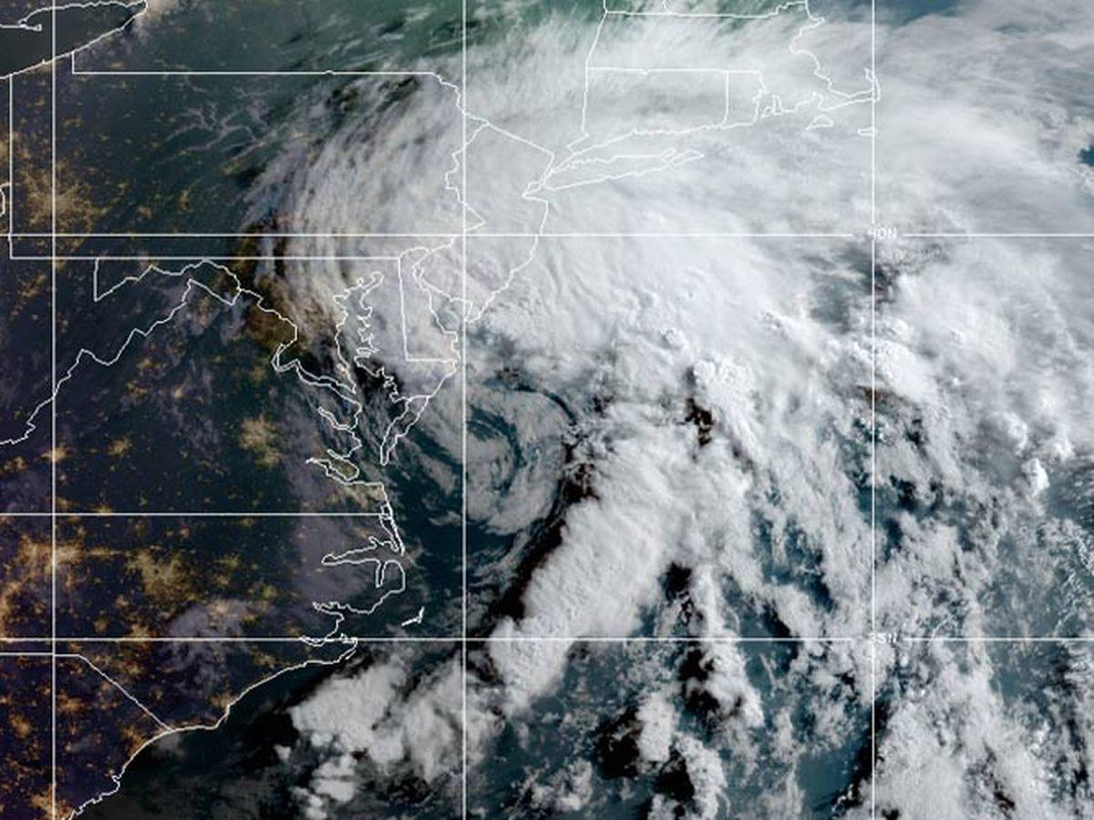 Fay becomes post-tropical cyclone over eastern New York