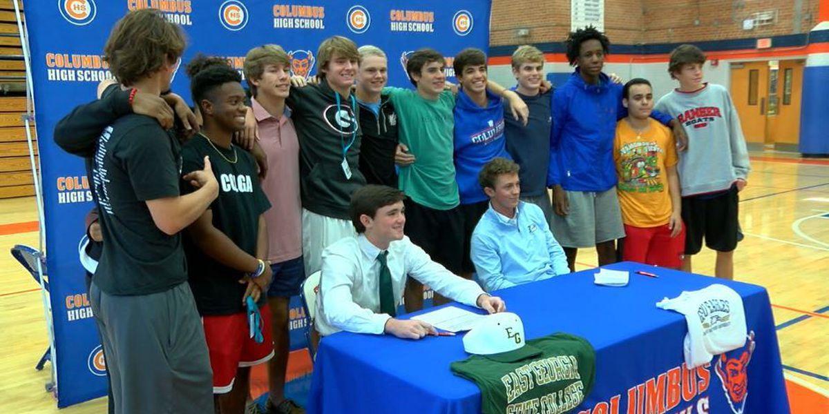 Columbus High sends 5 athletes to next level