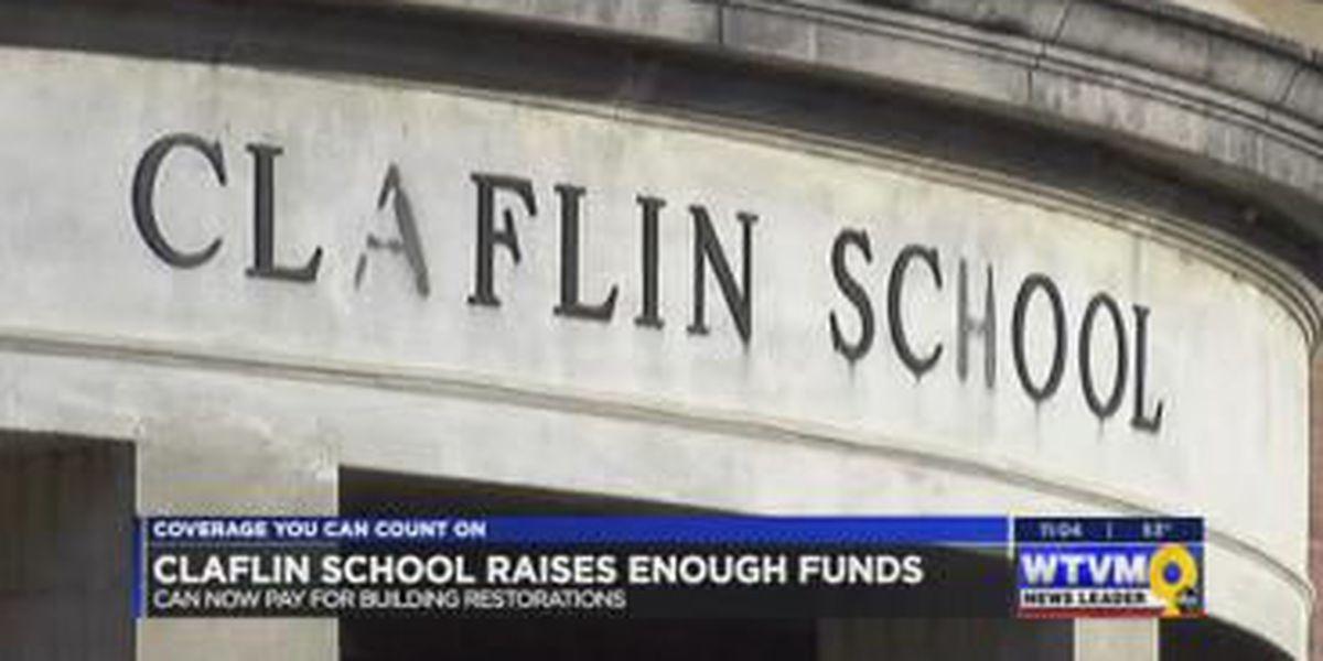 Columbus group raises funds to restore the historic Claflin School