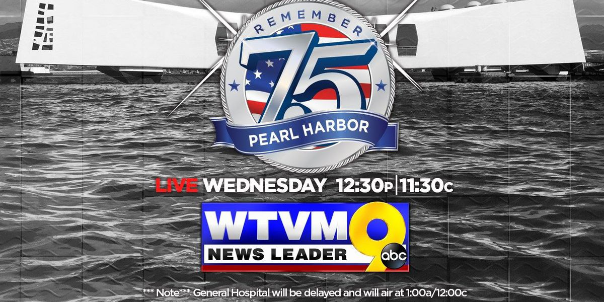 WATCH LIVE: 75th Pearl Harbor Memorial Day Commemoration