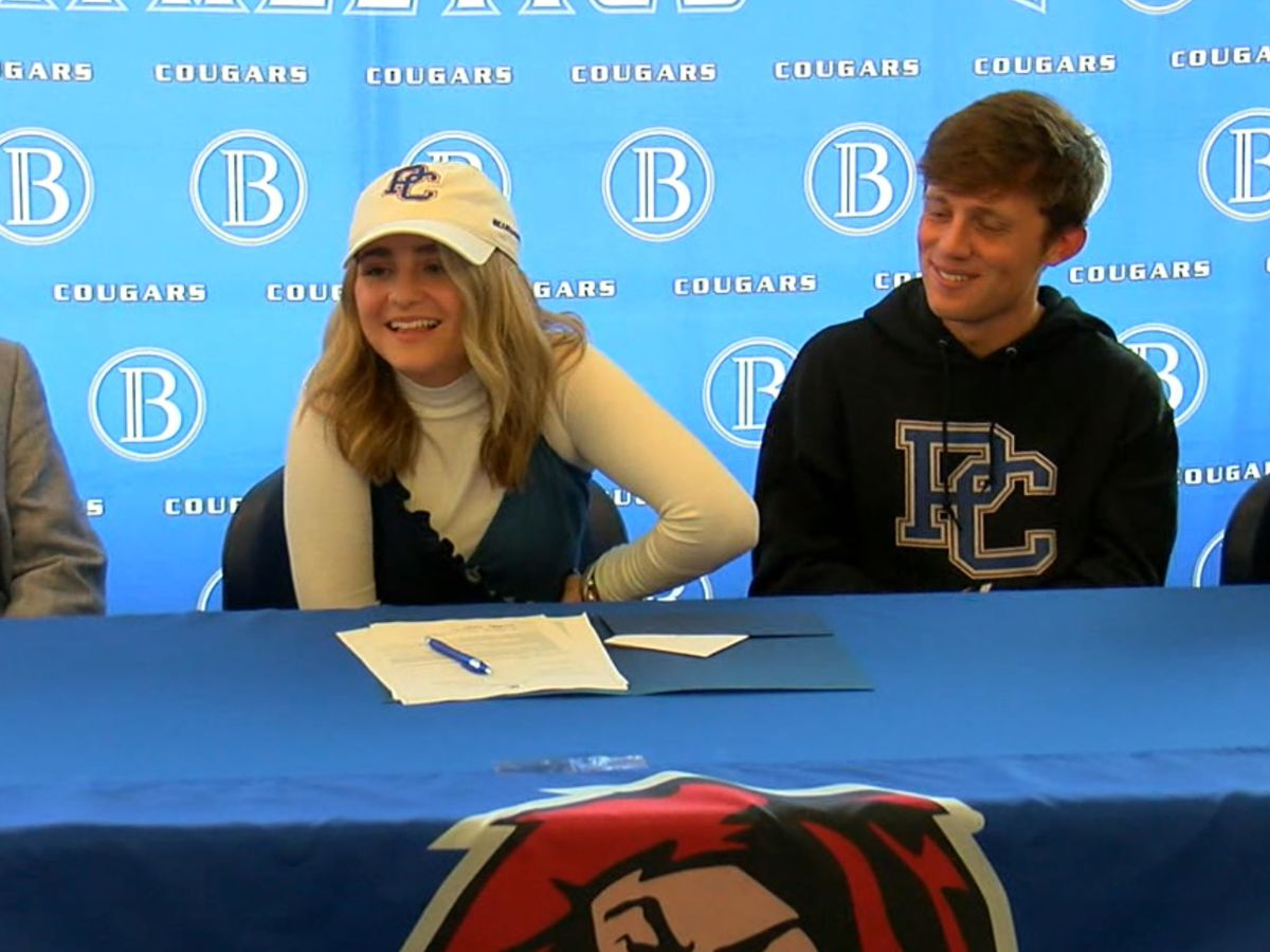 Hinds signs with Presbyterian golf