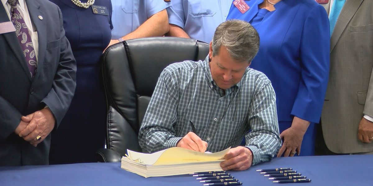GA governor signs 2020 fiscal budget