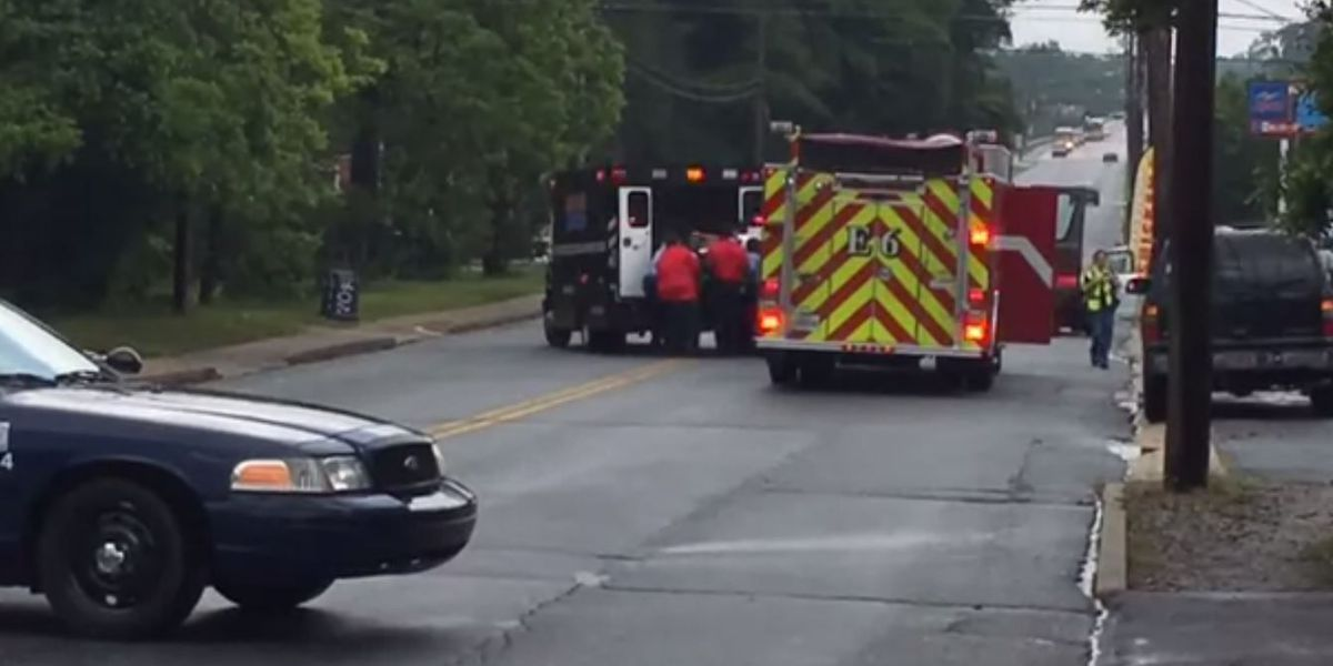 Pedestrian, 68, in critical condition after being struck on Brown Ave.