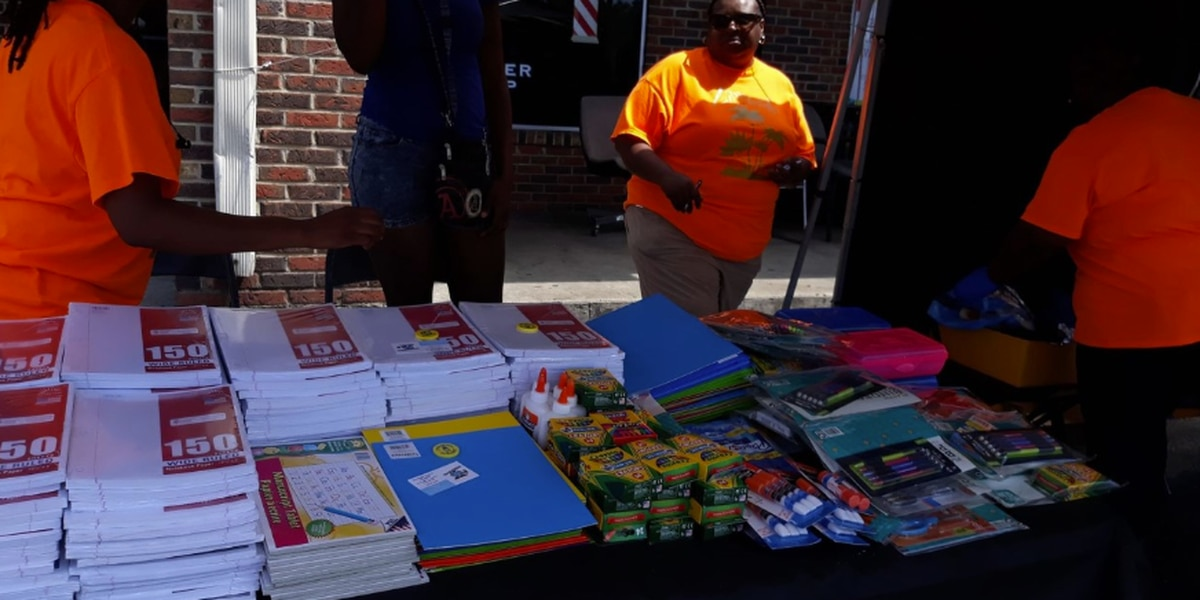 Local organization helps kids prepare for upcoming school year
