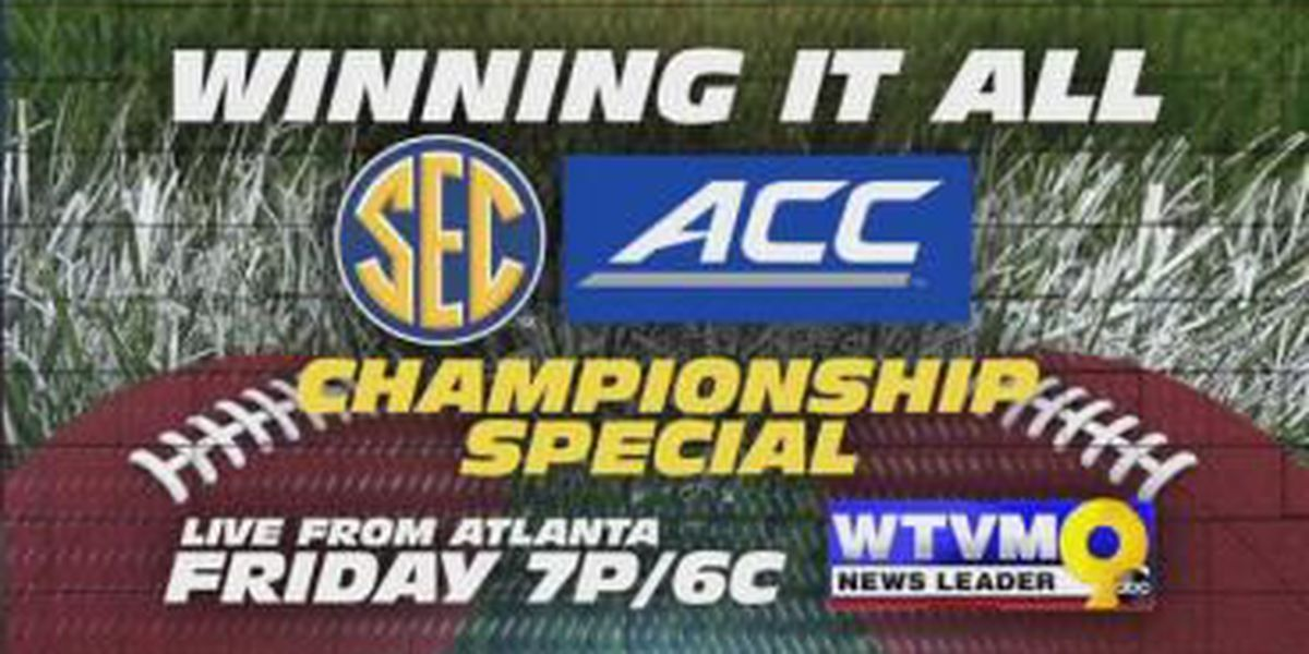 Winning it All: WTVM's SEC, ACC Chamionship Special