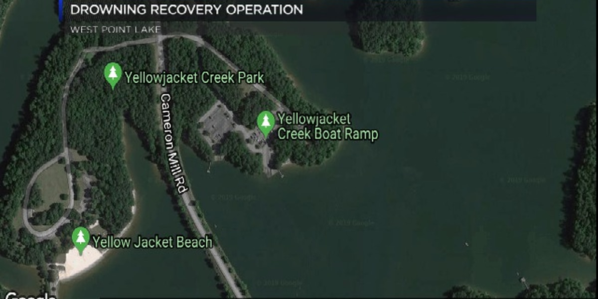 Drowning recovery operation underway on West Point Lake