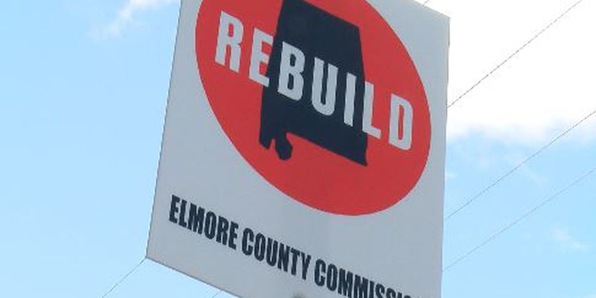 'Rebuild' signs identify which roads the new gas tax money will fix