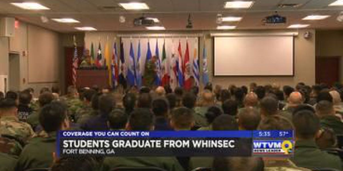 Students graduate from WHINSEC