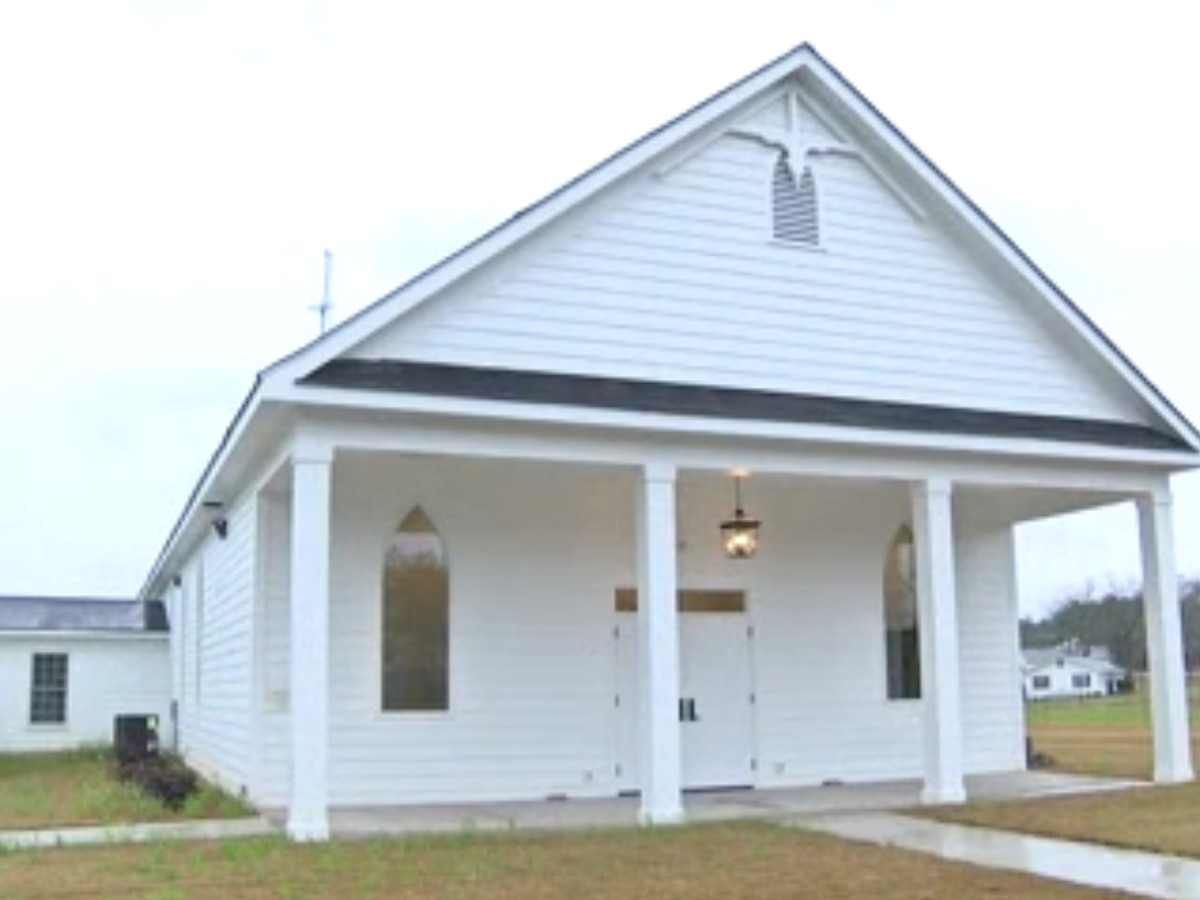 Beauregard church rebuilt, just like the community two years after deadly tornado