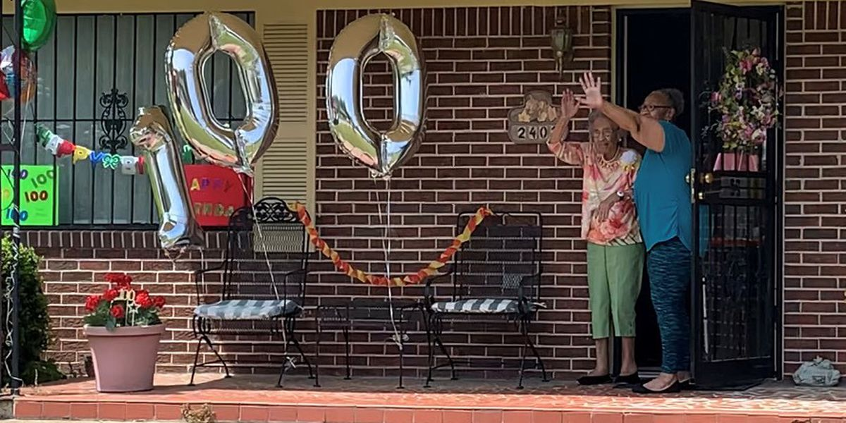 Pandemic can't stop celebration of 100th birthday