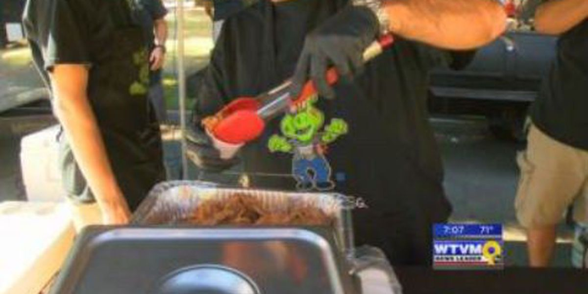 Pit masters compete at Blues, Brews & Q cook-off