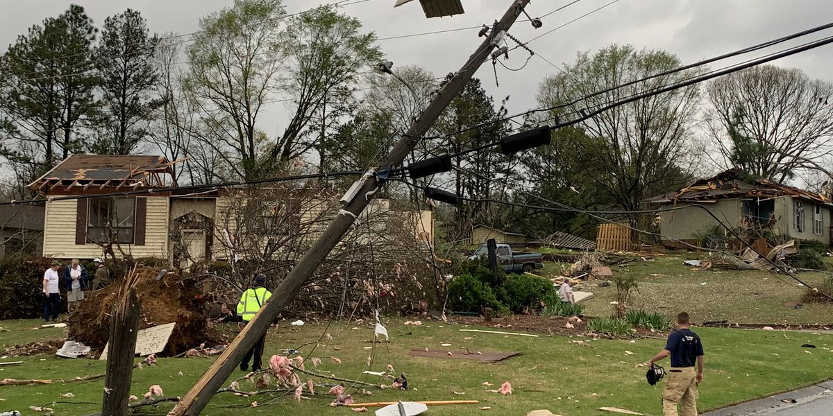 Homes destroyed in Pelham; Mayor issues curfew
