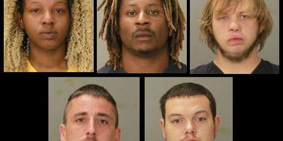 5 arrested in Columbus, found with illegal substances worth more than $5K