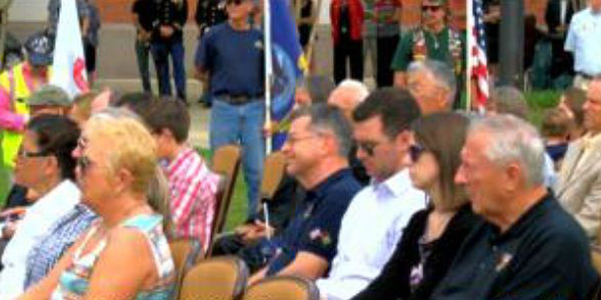 Memorial Day paver dedication ceremony held at NIM