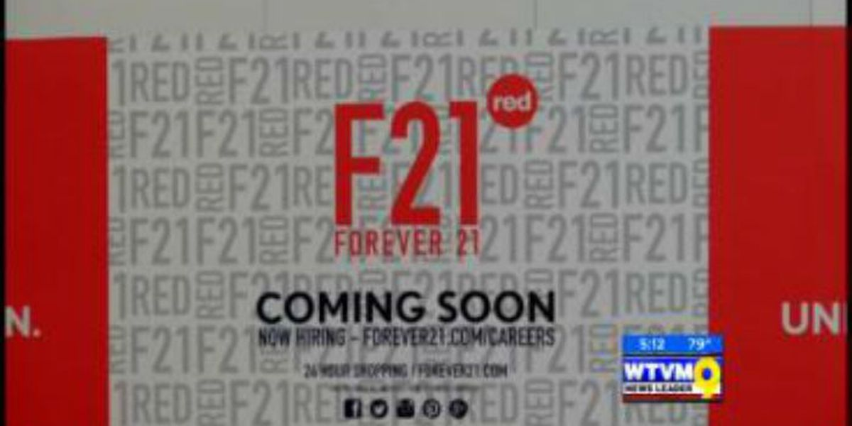 Forever 21 coming soon to Peachtree Mall now hiring
